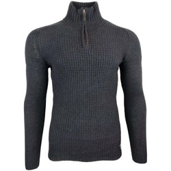 Clothing Men jumpers Superdry Harlo Textured Henley blue