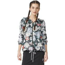 Clothing Women Jackets adidas Originals Originals Windbreaker White-Black