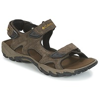Shoes Men Outdoor sandals Columbia SANTIAM™ 3 STRAP Brown