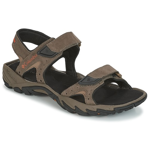 Shoes Men Outdoor sandals Columbia SANTIAM 2 STRAP Brown