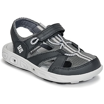 Shoes Children Outdoor sandals Columbia CHILDRENS TECHSUN™ WAVE Black