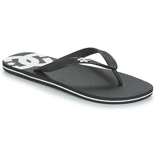 Shoes Men Flip flops DC Shoes SPRAY M SNDL BLW Black / White