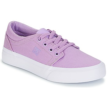 Shoes Girl Low top trainers DC Shoes TRASE TX G SHOE 538 Purple
