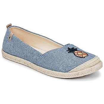 Shoes Women Espadrilles Roxy FLORA II J SHOE CHY Blue