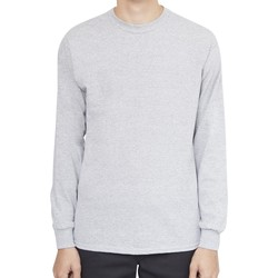 Clothing Men Long sleeved tee-shirts The Idle Man Classic Long Sleeve T-Shirt Grey