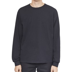 Clothing Men Long sleeved tee-shirts The Idle Man Classic Long Sleeve T-Shirt Black