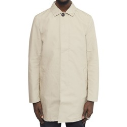 Clothing Men Jackets Farah Ossington Cotton Mac Jacket Tan