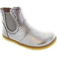 Shoes Girl Ankle boots Bobux I-Walk Lucky Lacey Gold