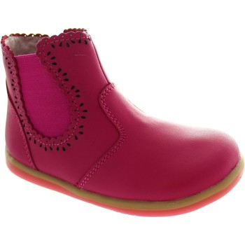 Shoes Girl Ankle boots Bobux I-Walk Lucky Lacey Pink