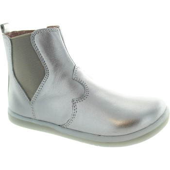 Shoes Girl Ankle boots Bobux I-Walk Outback Boot Silver