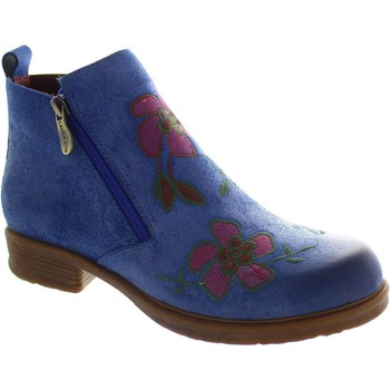Shoes Women Ankle boots Laura Vita Anita 02 Bleu