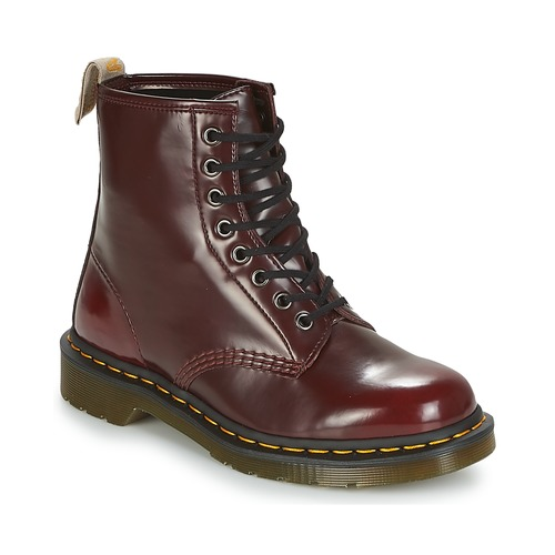 Shoes Women Mid boots Dr Martens VEGAN 1460 Red