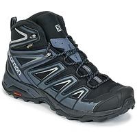 Shoes Men Walking shoes Salomon X ULTRA 3 MID GTX® Black