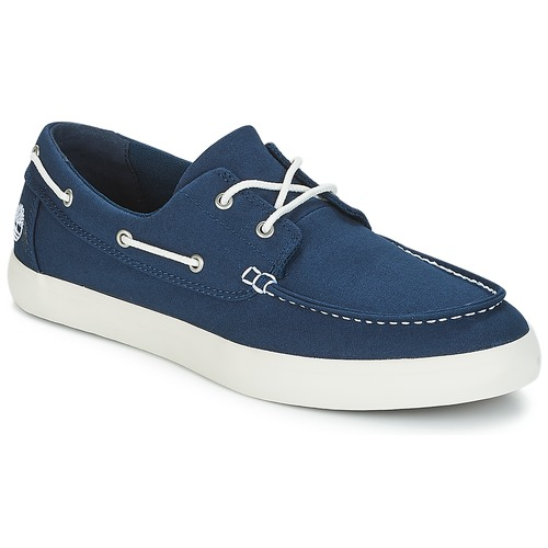21fda1f8a2f Timberland UNION WHARF 2 EYE BOAT OX Blue - Free delivery | Spartoo ...