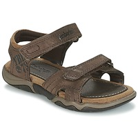 Shoes Children Outdoor sandals Timberland OAK BLUFFS LEATHER 2STRAP Brown
