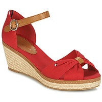 Shoes Women Sandals Tommy Hilfiger ICONIC ELBA SANDAL Red