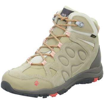 Shoes Hi top trainers Jack Wolfskin Rocksand Texapore Mid Beige