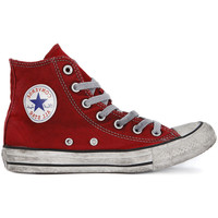 Shoes Hi top trainers Converse ALL STAR HI   CANVAS LTD RED    123,8