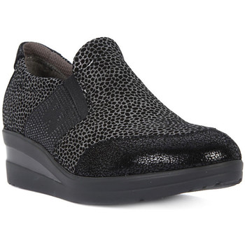 Shoes Women Low top trainers Melluso WALK ACCOLLATA Nero