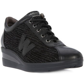 Shoes Women Hi top trainers Melluso WALK ALLACCIATA Nero