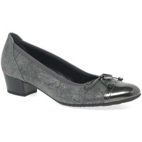 Shoes Women Heels Gabor Islay Womens Court Shoes Silver