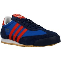 Shoes Men Low top trainers adidas Originals Dragon Navy blue-Blue-Red