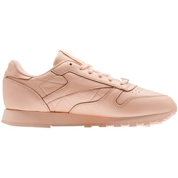 Shoes Women Low top trainers Reebok Sport Classic Leather L Pink