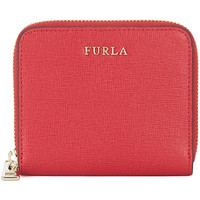 Bags Wallets Furla Babylon small ruby saffiano leather wallet Red