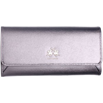 Bags Women Wallets La Martina - Women's Leather Wallet LA PORTENA Argenté
