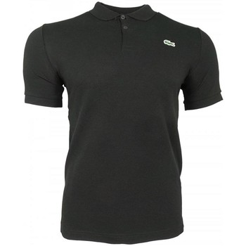 Clothing Men short-sleeved polo shirts Lacoste L!ve Classic SS Polo black
