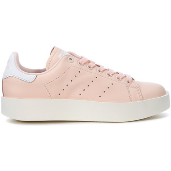 Shoes Low top trainers adidas Originals Stan Smith pink leather sneaker Pink