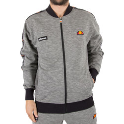 Clothing Men sweatpants Ellesse Men's Joyner Logo Tracktop Jacket, Grey grey