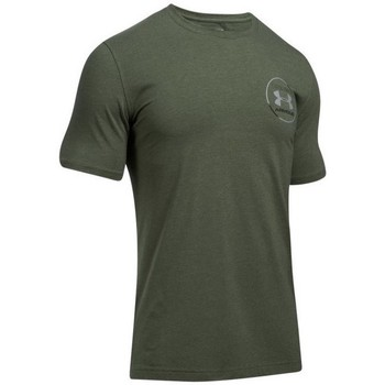 Clothing Men short-sleeved t-shirts Under Armour Mantra SS Green