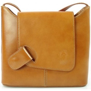 Bags Small shoulder bags Vera Pelle Camel Brown