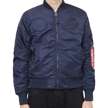Clothing Men Jackets Alpha Industries MA-1 VF NASA Jacket Navy