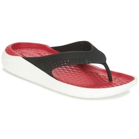 Shoes Flip flops Crocs LITERIDE FLIP Black / Red