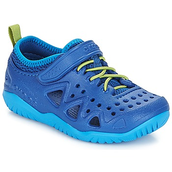 Shoes Boy Water shoes Crocs SWIFTWATER PLAY SHOE K Blue