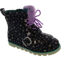 Shoes Girl Mid boots Irregular Choice Baby Step Mama Black/Lilac