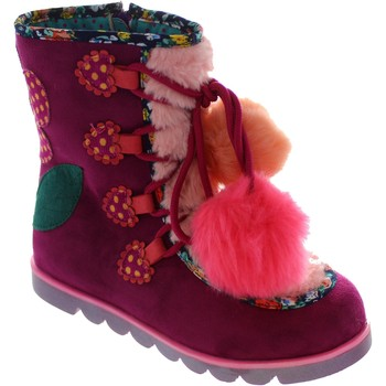 Shoes Girl Mid boots Irregular Choice Mini Warmer Pink