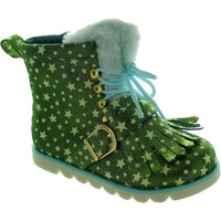 Shoes Girl Mid boots Irregular Choice Baby Step Mama Green