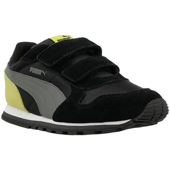 Shoes Children Low top trainers Puma ST Runner NL V PS B Yellow-Black