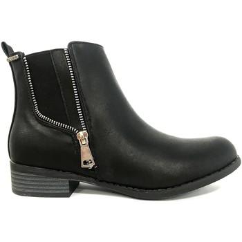 Shoes Women Mid boots Cassis Côte d'Azur LUTY  Boots Noir a talons Black