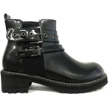 Shoes Women Mid boots Cassis Côte d'Azur Cassis cote d'azur Natacha bottines Noir Black