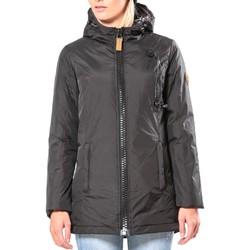 Clothing Women Jackets 80DB Original Parka ML Capuche - Ecouteurs inclus 80DB Bunty Carbon Black