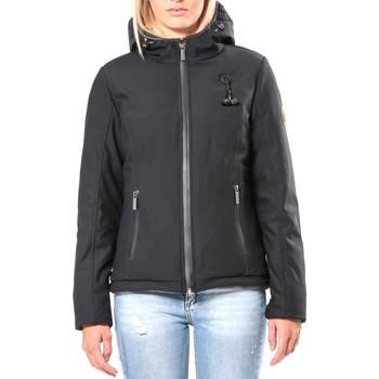 Clothing Women Jackets 80DB Original Blouson ML Capuche - Ecouteurs inclus 80DB Sally Carbon Black