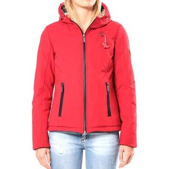 Clothing Women Jackets 80DB Original Blouson ML Capuche - Ecouteurs inclus 80DB Sally Deep Red Red