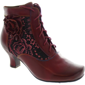 Shoes Women Ankle boots Laura Vita Candice 03 Wine