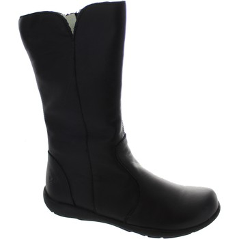 Shoes Girl High boots Primigi Nappa Soft Black