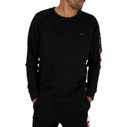 Clothing Men sweaters Alpha Men's X-Fit Sweatshirt, Black black