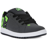 Shoes Women Low top trainers DC Shoes COURT GRAFFIK SE BOYS Grigio